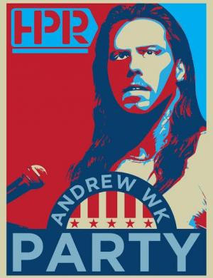 "Andrew WK and ""The Power of Partying"""