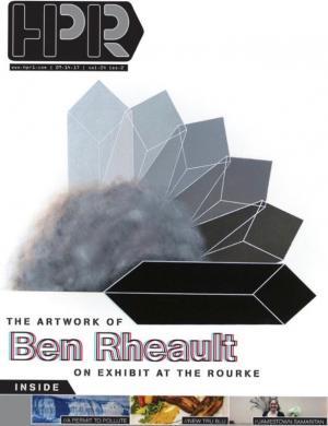 """Ben Rheault opens """"Enantiodromia: Studies"""" at Rourke Museum"""