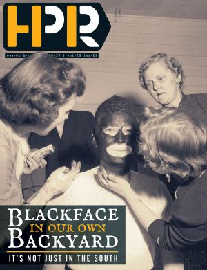 Blackface in our own backyard, it's not just in the South