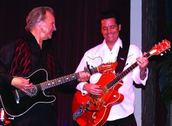 Bobby Vee and Robby Vee performing at the Surf Ballroom