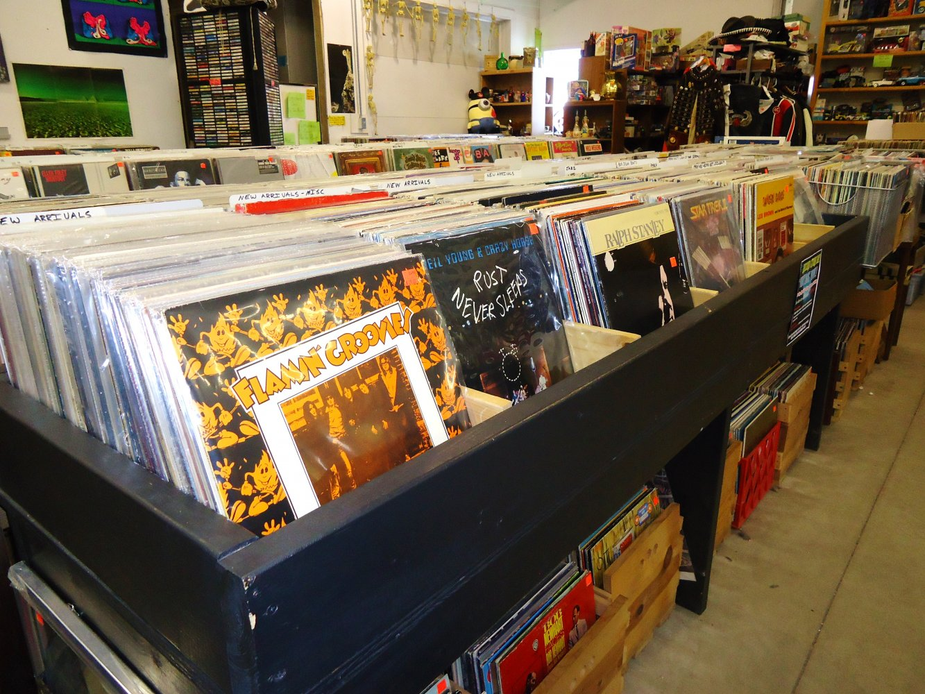 local shops put their own spin on record store day high plains reader fargo nd. Black Bedroom Furniture Sets. Home Design Ideas