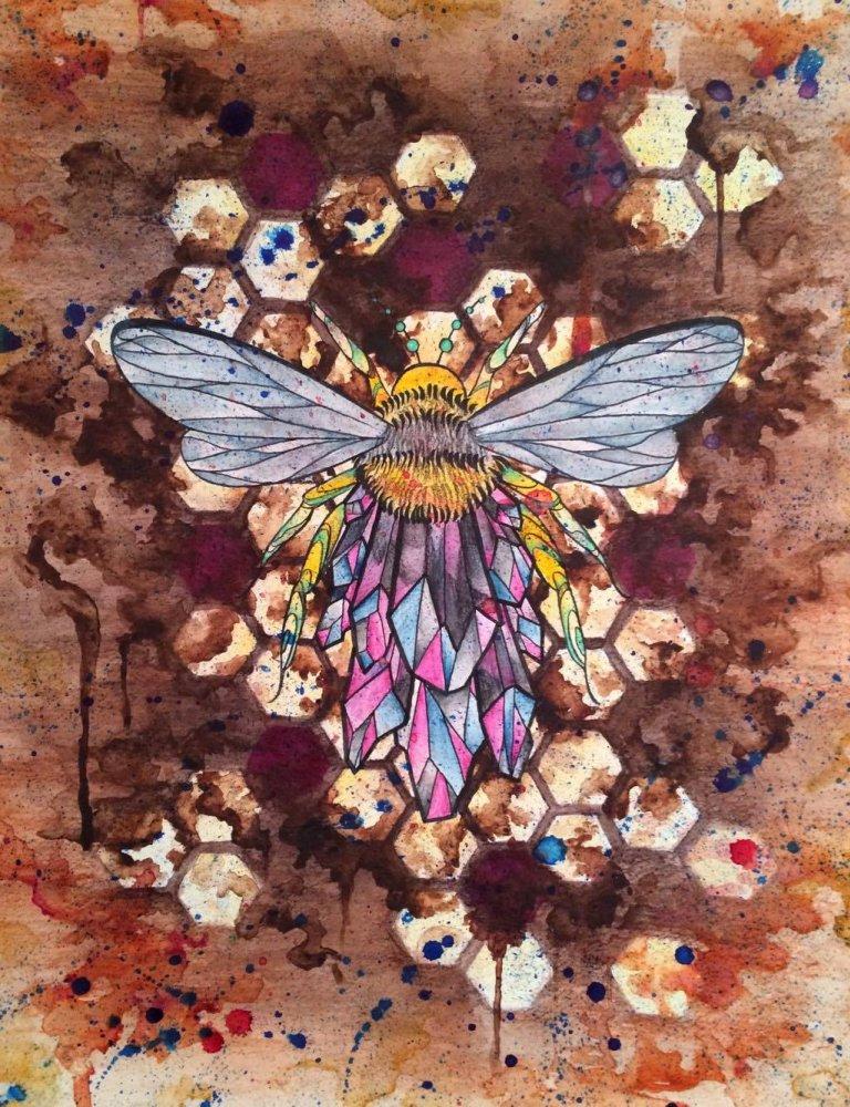 Beesnest Bees Nest Tattoo Fargo Nd Wwwpicsbudcom