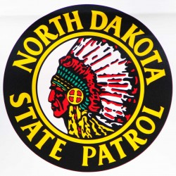 North dakota highway patrol logo - photo by c.s. hagen