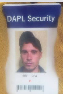 Thompsons DAPL security badge taken from pickup truck - online sources