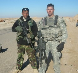 Kyle thompson (right) - facebook page