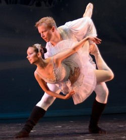 Gabriela Baierle-Atwood and Matt Gasper / Photo by Dan Leeaphon