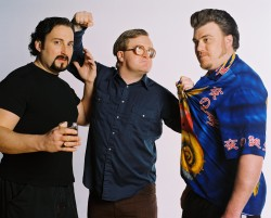 Julian, Bubbles and Ricky of the Trailer Park Boys