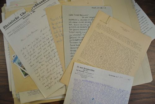 Petitions for help from German Jews 1930s to 1940s - letters provided by Department of Special Collections, Chester Fritz Library UND