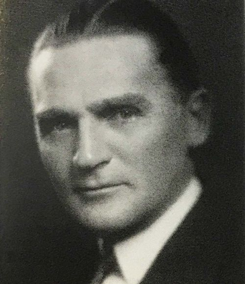 Senator Gerald Nye - mid 1930s - who quietly helped Herman Stern obtain immigration visas for German relatives - photo provided by Department of Special Collections, Chester Fritz Library UND