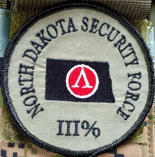 ND Security Force III% patch - on ND Freedom Defense Force III% Facebook page