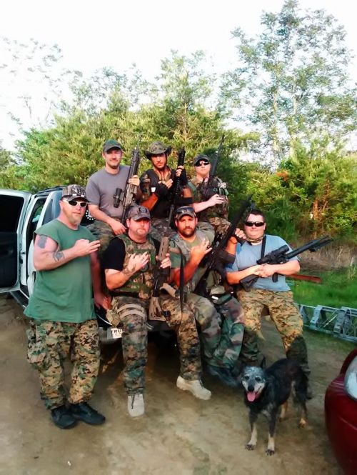 Tennessee multi-state milita during training - FTX with ND, MN, OH, SC, GA.-ND Freedom Defense Force III% Facebook pagejpg