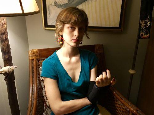 Self portrait Sophia Wilansky