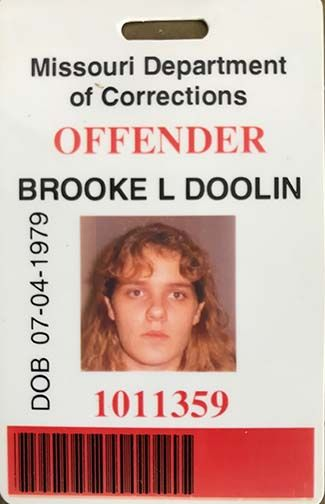 Brooke Lynn Crews, while still with maiden name Doolin