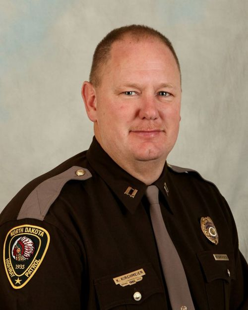 Morton County Sheriff Kyle Kirchmeier