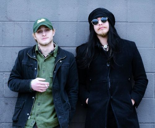 Anomic, a two-person band, Jay Stevenson, guitarist and vocals, and drummer Rick Tullar,