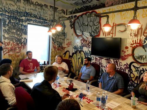 Meeting with Prairie Den in Fargo June 2017 - Senator Heitkamp's Office