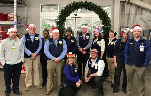 Fargo Walmart's management team as of December 11, 2017 - Walmart's Facebook page