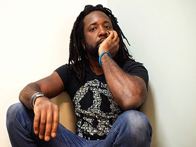 Marlon James - photograph by Jeffrey Skemp