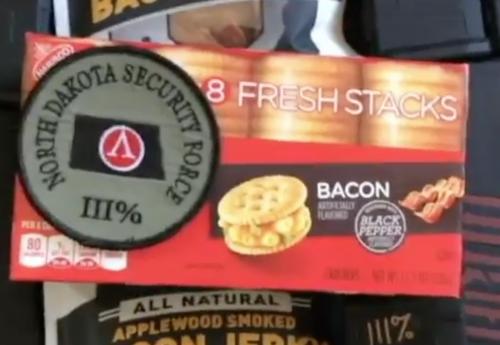 Bacon and North Dakota Security Force III% - video snapshot