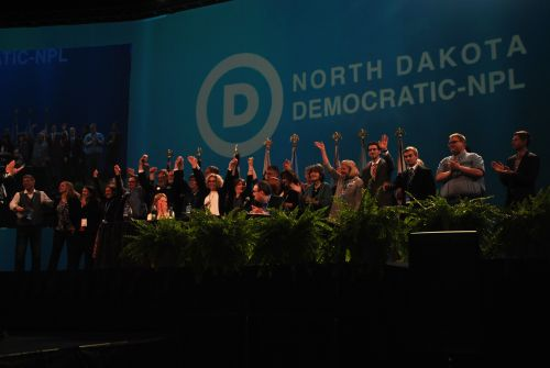 Democratic House of Representatives candidates - photograph by C.S. Hagen