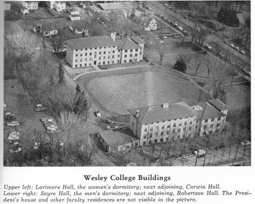 Wesley College Buildings - provided by Andrew Alexis Varvel