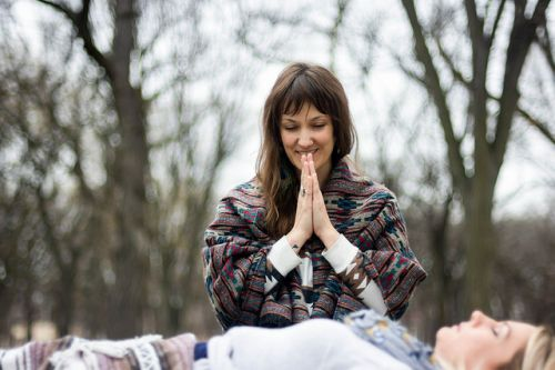Juliet Trinka, a holistic hearler and shaman, and owner of Vedic Earth - photograph by Logan Macrae