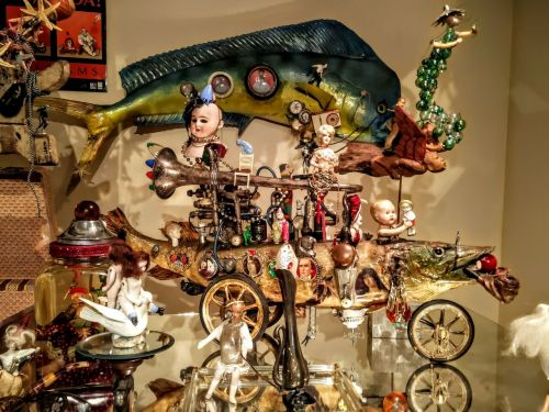 Kirk Williams' toys - photograph by Sabrina Hornung