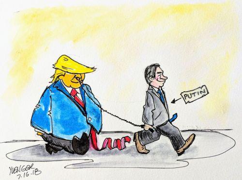 Comic courtesy of Daily Trump Cartoon