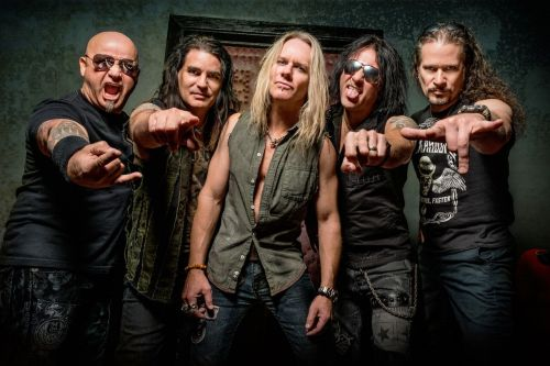Warrant the band - photograph courtesy of Warrant
