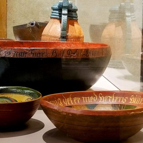 Ale bowls - photograph by Chris Larson