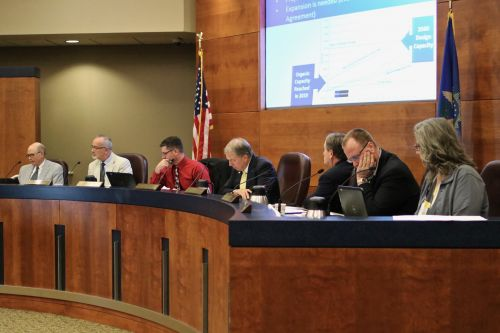 Fargo's City Commission approves admitting approval voting measure for the November election - photograph by C.S. Hagen