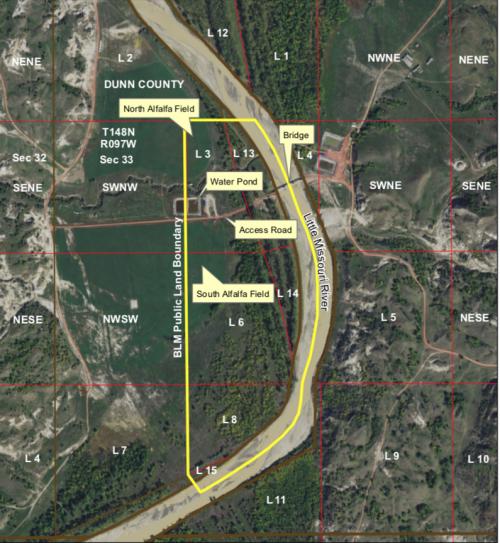 Little Missouri River Bridge and Other Unauthorized Developments - United States Department of the Interior Bureau of Land Management Montana-Dakotas