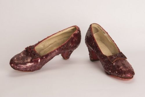 Dorothy's ruby slippers found in Minneapolis - provided by the Department of Justice