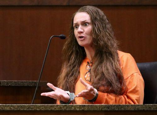 Jennifer Robinson, Brooke Lynn Crews's former cellmate in court - photograph by C.S. Hagen