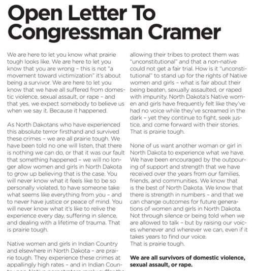 Senator Heidi Heitkamp's political advertisement