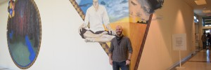 West Acres Artist in Residence Builds Body of Work, Creates Mural for the Public