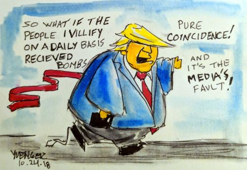 Raymond - Gadfly - comic by Daily Trump Cartoon
