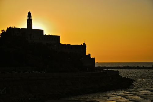 As sea levels rise so will the increase in poverty and human migration - Jaffa, Israel - photograph by C.S. Hagen