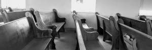 Empty Pews and Collection Plates