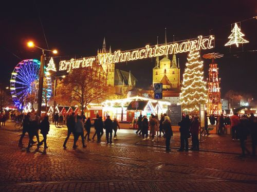 Erfurt christmas market - photography by Alicia Underlee Nelson