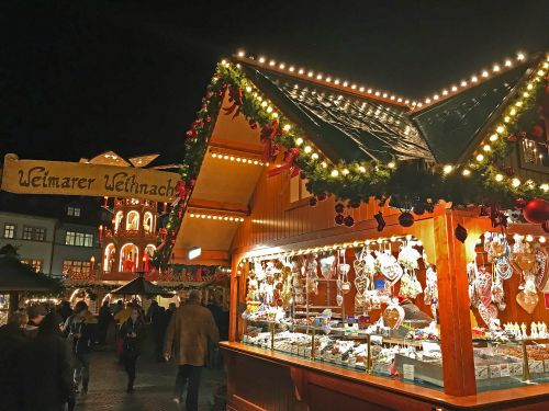 Weimar christmas market - photography by Alicia Underlee Nelson