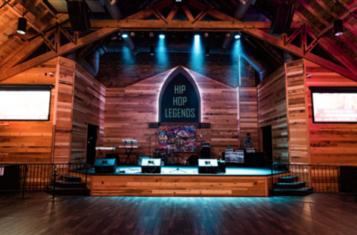 Legend's Stage - photograph by photograph by Sean Rider