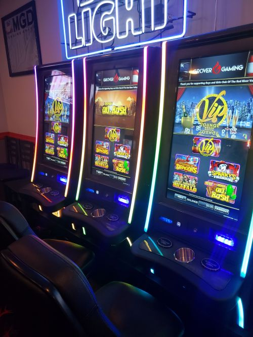 Pulltab slots - photograph by Zach Nerpel