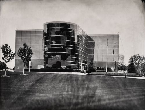 Bank of North Dakota - wet plate by Shane Balkowitsch