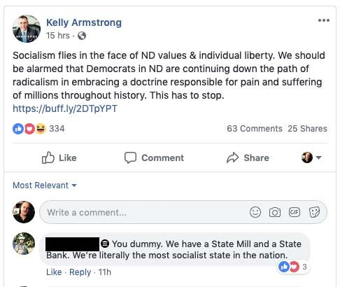 Congressman Kelly Armstrong's post - Facebook