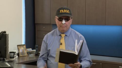 Mayor Tim Mahoney announcing February 2019 as Fridguary - City of Fargo video screenshot