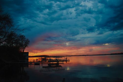 Summer and lakeside sunsets are almost here - photograph by C.S. Hagen