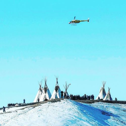 Picture of Last Child's Camp during the DAPL controversy - Chase Iron Eyes Facebook