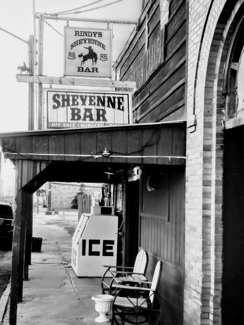 The Sheyenne Bar - photograph by Sabrina Hornung