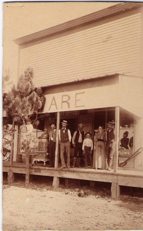 Minnesela business unknown date - - photograph provided by South Dakota Public Broadcasting producer Stephanie Rissler